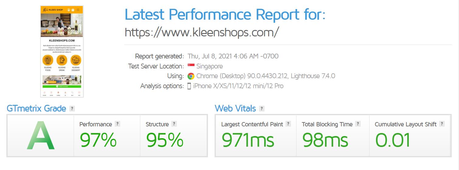 Kleens shop
